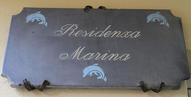 Targa di Residenza Marina